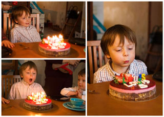 Louis vijf jaar
